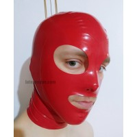 Latex hood XANDER RED (SA-MAS29)