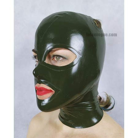 Latex hood with double holes for pigtails (SA-SA12)