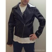 Heavy rubber biker jacket (SA-GJA03L) size L2