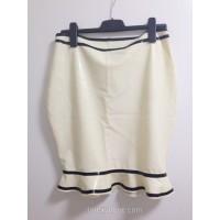 Latexová sukně s volánkem a pruhy (SA-SA03)