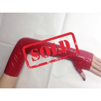 Female latex mittens long (SA-SA01)