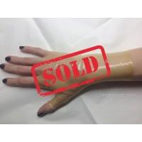 Dámské latexové bezprsté rukavice krátké (SA-SA02)