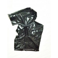 Černá latexová orální maska s boxerkami (SA-EXC01)