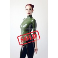 Latex zipperless leotard (SA-LEO01)