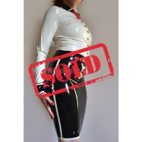 Latex skirt Hollywood (SA-SKI05)