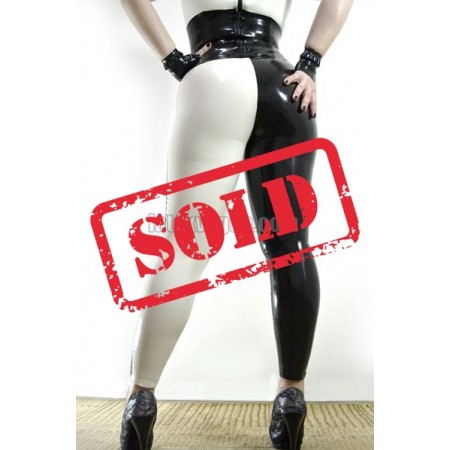 Two colored latex leggings (SA-LEG02)