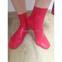 Female latex anatomical socks (SA-ACE07)