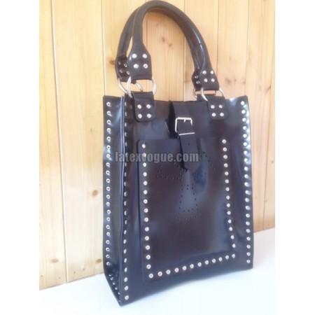 Heavy rubber velká dámská kabelka