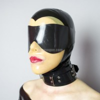 Heavy rubber blindfold