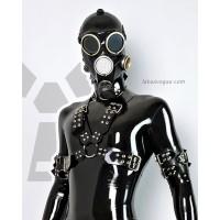 Wide heavy rubber chest harness - ZOAN