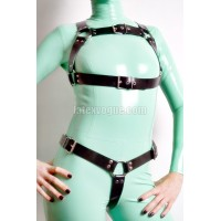 Heavy rubber chest harness - ERIS