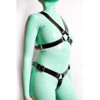 Heavy rubber chest and crotch harness (SA-GHA01-04)