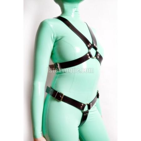Heavy rubber chest  harness - EXENE