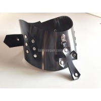Heavy rubber collar with cross