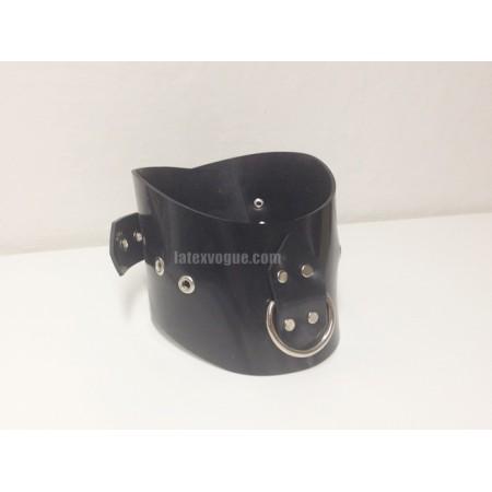 Heavy rubber obojek s D-kroužkem