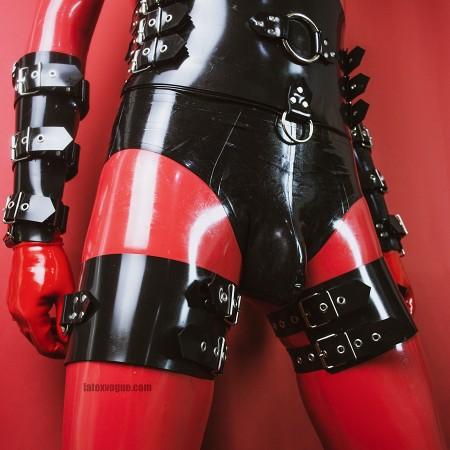 Heavy rubber pouta na stehna model.16