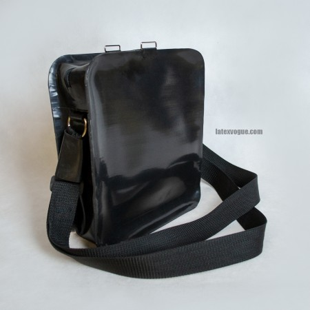 Heavy rubber over the shoulder sport bag model.14