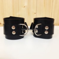 Heavy rubber wrist cuffs