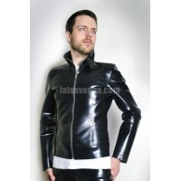 Heavy rubber jacket