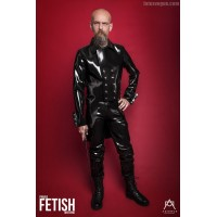 Heavy rubber tailcoat
