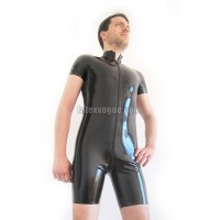 Basic latex surf suit