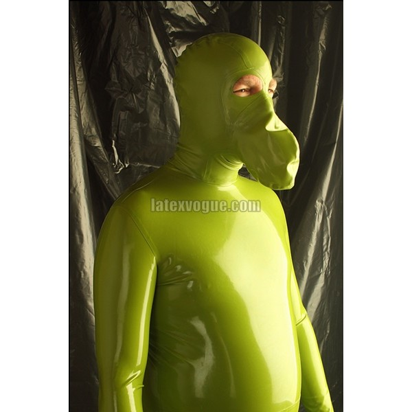 1mm rubber mask breath paly kigurumi 5