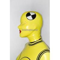 Latex crash test dummy hood – AIDE