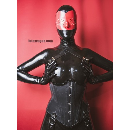 Latex hood with perforation - JASPER