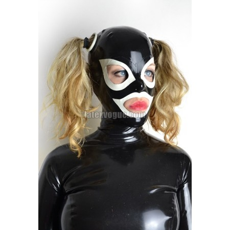 Latex rounded holes mask – AURIE