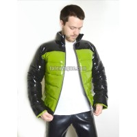 Winter warm latex jacket