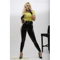 Basic latex leggings