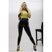Basic latex leggings
