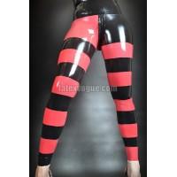 Striped latex leggings (SA-LEG05)