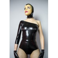 Latex leotard  - ALEX