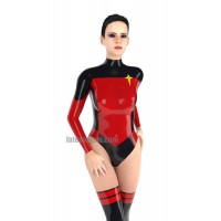 Latex Space Cadet leotard