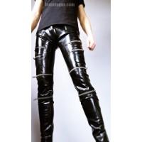 Latexové kalhoty se zipy - RYAN