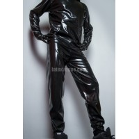 Latex jogging pants - DARIEN