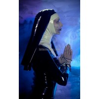 Latex cape for nun