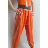 Latexové joggingové kalhoty (SA-PAN03)
