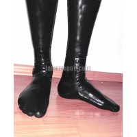 Latex anatomical socks