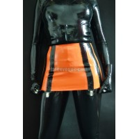 Massive latex 12-strap suspender belt (SA-BEL02)