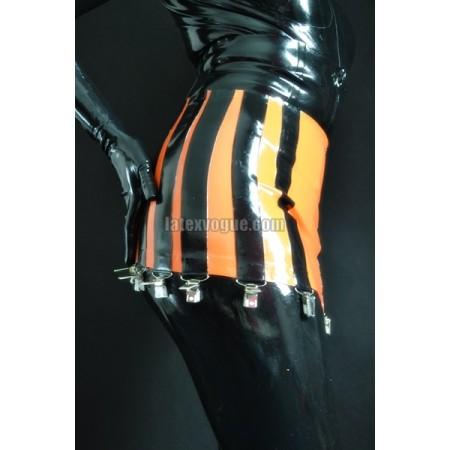 Masivní latexový podvazkový pás s 12ti podvazkovými klipy