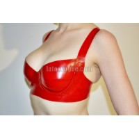 Basic latex bra