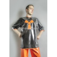 Loose latex HIPHOP T-shirt