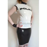 Latex police top