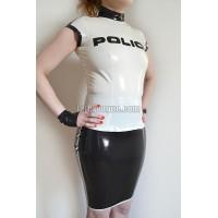 Latexový policejní top