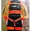 Latex set – top and harness panties