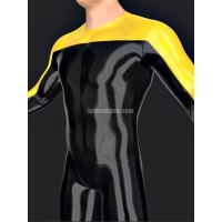 Latex T-shirt with long sleeves - SAILON