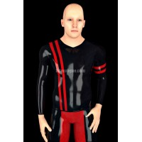 Latex T-shirt with long sleeves - ARTO