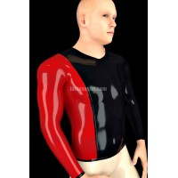Latex T-shirt with long sleeves - LOTIEL
